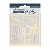 Stamperia Decorative Chips - Passion - Dancer