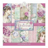 Stamperia Double Sided 12in x 12in Paper Pad - Hortensia