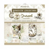 Stamperia Double Sided 8in x 8in Paper Pad - Romantic Journal
