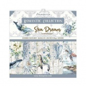 Stamperia  Double Sided 12in x 12in Paper Pad - Romantic Sea Dream