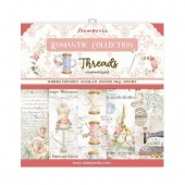 Stamperia  Double Sided 12in x 12in Paper Pad - Romantic Threads