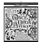 Stamperia Stencil - Once Upon a Time