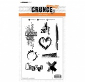 StudioLight Grunge Collection Clear Stamp Set - 363