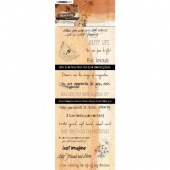Studiolight Just Lou Butterfly Collection Chipboard Quotes - JL08