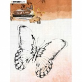StudioLight Just Lou - Butterfly Collection Clear Stamp - JL14