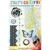 That's Crafty! Clear Stamp Set - Textures Collection - Set 3
