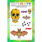 That's Crafty! Clear Stamp Set - Halloween Collection - Set 1