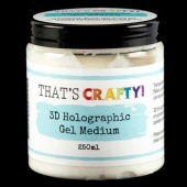 That's Crafty! 3D Holographic Gel Medium