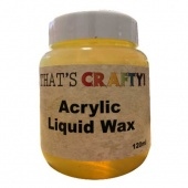 That's Crafty! Acrylic Liquid Wax - 120ml