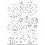 That's Crafty! Surfaces Craftyboard - Cogs