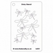 That's Crafty! Dinky Stencil - Dragonfly Flight - TC051