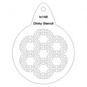 That's Crafty! Round Dinky Stencil - Geo Circles - TC148