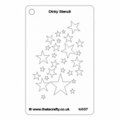 That's Crafty! Dinky Stencil - Star Shower - TC037