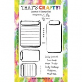 That's Crafty! Clear Stamp Set - Journal It