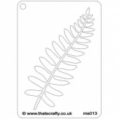 That's Crafty! Mini Stencil - Fern - MS013
