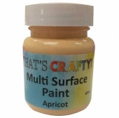 That's Crafty! Multi Surface Paint - Apricot