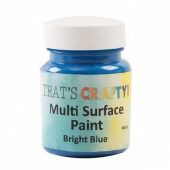 That's Crafty! Multi Surface Paint - Bright Blue