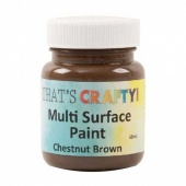 That's Crafty! Multi Surface Paint - Chestnut Brown