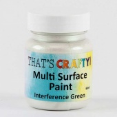 That's Crafty! Multi Surface Paint - Interference Green