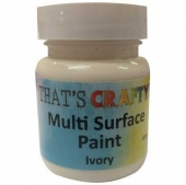 That's Crafty! Multi Surface Paint - Ivory