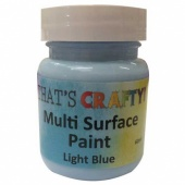 That's Crafty! Multi Surface Paint - Light Blue