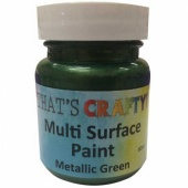 That's Crafty! Multi Surface Paint - Metallic Green