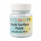 That's Crafty! Multi Surface Paint - Metallic Ice Blue