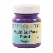 That's Crafty! Multi Surface Paint - Purple