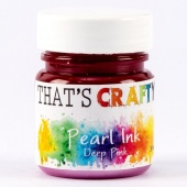 That's Crafty! Pearl Ink - Deep Pink
