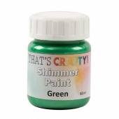 That's Crafty! Shimmer Paint - Green