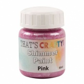 That's Crafty! Shimmer Paint - Pink