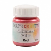 That's Crafty! Shimmer Paint - Red