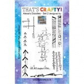 That's Crafty! Clear Stamp Set - Alexa's Doodles - Set 2