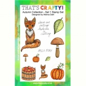 That's Crafty! Clear Stamp Set - Autumn Collection - Set 1