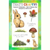 That's Crafty! Clear Stamp Set - Autumn Collection - Set 4