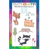 That's Crafty! Clear Stamp Set - Baby Bear and Friends