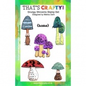 That's Crafty! Clear Stamp Set - Grungy Shrooms