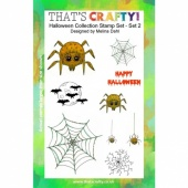 That's Crafty! Clear Stamp Set - Halloween Collection - Set 2