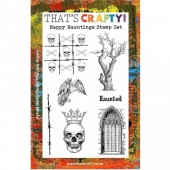 That's Crafty! Clear Stamp Set - Happy Hauntings