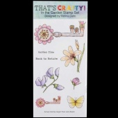 That's Crafty! Clear DL Stamp Set - In the Garden