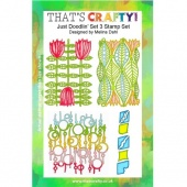 That's Crafty! Clear Stamp Set - Just Doodlin' - Set 3