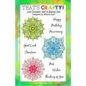 That's Crafty! Clear Stamp Set - Just Doodlin' - Set 4