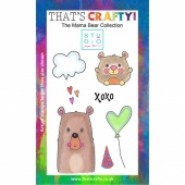 That's Crafty! Clear Stamp Set - The Mama Bear Collection