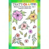 That's Crafty! Clear Stamp Set - Melina's Florals Set 1