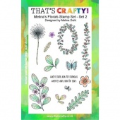 That's Crafty! Clear Stamp Set - Melina's Florals Set 2