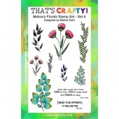 That's Crafty! Clear Stamp Set - Melina's Florals Set 4