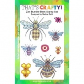 That's Crafty! Clear Stamp Set - Zen Bumble Bees