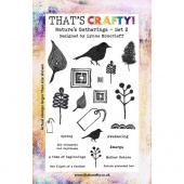 That's Crafty! Clear Stamp Set - Nature's Gatherings Set 2 - A5