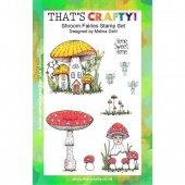 That's Crafty! Clear Stamp Set - Shroom Fairies