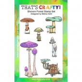 That's Crafty! Clear Stamp Set - Shroom Forest